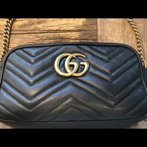 Gucci Marmont genuine leather GG original